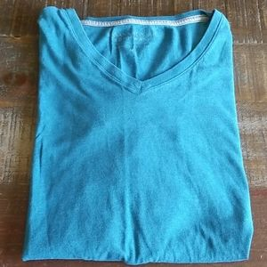 Banana Republic Men's Soft Wash V Neck T Shirt